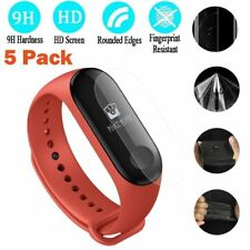 5pcs Tempered Glass Full Cover Screen Protector Film for XIAOMI Mi Band 3