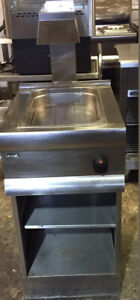 Lincat CS4/G Silverlink 600 Chip Scuttle With Overhead Gantry & Base Unit Stand