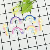 1pc Miniature Landscape Ornaments Craft Rainbow Figures Mini Fairy Garden de!wBD