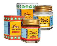 2 pots de 30g de Baume du tigre rouge+ blanc au choix (2x30g Tiger balm).
