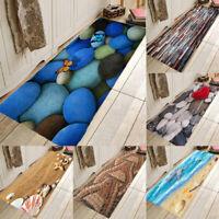 Pebbles Kitchen Floor Mat Non-Slip Rug Doormat Hallway Runner Carpet Bedroom