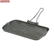 Typhoon Folding Handle Rectangular Chargriller 24cm Cooking Kitchen Home New