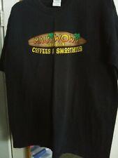 Maui Wowi Hawaiian Coffees & Smoothies T-shirt Sz Xl