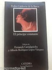 El principe constante Pedro Calderon de la Barca used see desc. Book paperback