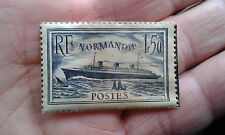 STAMP / TIMBRE FRANCE PAQUEBOT NORMANDIE