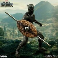 BLACK PANTHER Mezco Toyz One:12 Collective Action Figure 1:12 Scale Marvel MCU