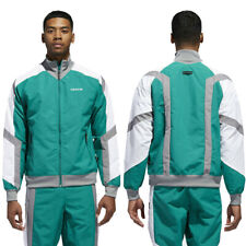 adidas Originals Mens EQT Block Windbreaker Retro Lightweight Jacket Track Top