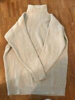 BRUNELLO CUCINELLI Pullover,Gr.S/M,100% KASCHMIR,weit geschnitten, gebraucht,