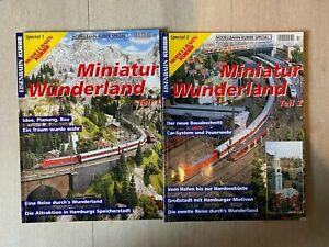 Modellbahn Kurier Special 1+2: Miniatur Wunderland Teil 1 und 2