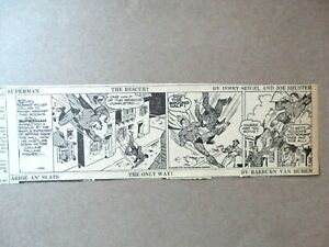 Superman Daily Newspaper Strips (Set of 6) – June 1943