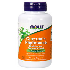 Curcumin Abfließen, 60 Veg Kapseln - Now Foods