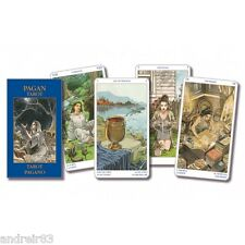 Tarot Cards Pagan 78 cards + instruction Mini Taro TC41