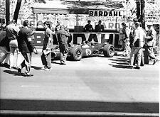 JACK BRABHAM REPCO BT19 PIT PHOTOGRAPH FOTO MONACO GRAND PRIX 1967