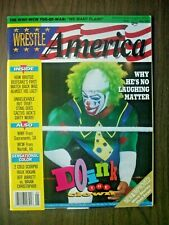 WRESTLE AMERICA MAGAZINE 5/93 FLAIR! DIRTY WHITE BOY! DOINK! INDEPENDENTS! STING