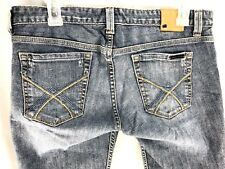 f60402bceac AX Armani Exchange Jeans Mujer 8 Azul Oscuro Denim Lavado J57 recta baja 33