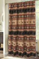 Autumn Trails Shower Curtain - Rustic - Bears & Bucks - Free Shipping