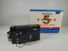 Vintage Yashica Automatic 38mm Point and Shoot Camera Auto Focus Motor Tested