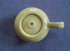 Pre 1959 Russel Wright Steubenville Chartreuse Sugar with Lid