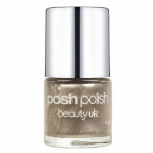 Beauty UK Posh Polish Nail Varnish Shimmer Sparkle Lacquer Nail Art 2 TOPAZ