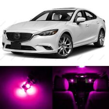 13 x Pink LED Interior Lights Package For 2014 - 2018 Mazda 6 + PRY TOOL