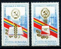 RUMANIA / ROMANIA año 1982  yvert nr. 3414/15  nueva conferencia PCR