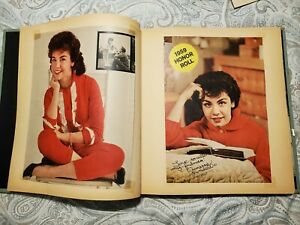 VINTAGE ANNETTE FUNICELLO SCRAPBOOK 1950s-1960s, OVER 60 PAGES PICTURES ARTICLES