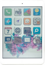 Apple iPad mini 16GB White/ Silver *teildefekt* 4G LTE Cellular Tablet (N13683)