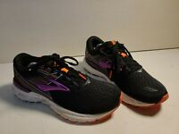 Brooks Adrenaline GTS 19 Black/Purple/Coral Women's Running Shoes Size 9