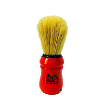Boar Bristle  Shaving Brush / Red / Made By Omega / SAME DAY POST