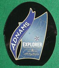 Pump Clip Insert Reversible Adnams Explorer / Jennings Worlds Biggest Liar RS93