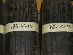 185 65 15 PART WORN TYRES 6mm FITTED AND BALANCED