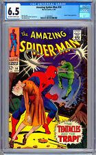 AMAZING SPIDER-MAN #54 CGC 6.5 STAN LEE JOHN ROMITA DR OCTOPUS AUNT MAY APP 1967