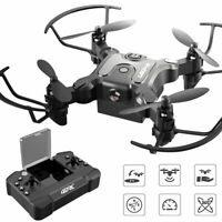 Mini Drone Selfie WIFI FPV With HD Camera Foldable Arm RC Quadcopter Toy Gift US