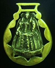 Vintage IN HONOR OF QUEEN ELIZABETH I Harness Brass England WOW YOUR WALLS!