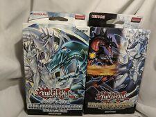 Yugioh Saga of Blue-Eyes White Dragon/ dragons collide deck |NEW SEALED