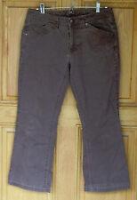 Tommy Hilfiger Ladies Size 6 Brown Cropped Pants