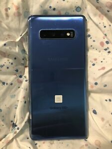 Samsung Galaxy S10+ SM-G975 - 128GB - Prism Blue (Verizon) (Dual SIM)