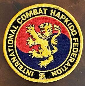 "International Combat Hapkido Federation 4.25"" Patch"