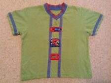 M&S Short Sleeved T-Shirt Green 100% Surf age 3-4 years