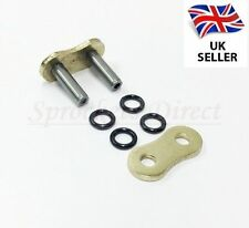 GOLD 530 O RING MOTORCYCLE BIKE DIRT BIKE ATV QUAD DRIVE CHAIN RIVET LINK