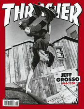 Thrasher Magazine June 2020 - Featuring Jeff Grosso (1968 - 2020)