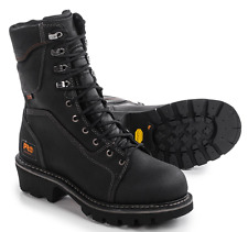 NEW TIMBERLAND PRO WATERPROOF WORK BOOTS MENS 7.5 W WIDE RIPSAW LOGGING BOOTS