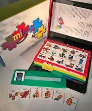 156 Plastic Visual Pcs Symbol Cards Communication Book, Autism ASD ADHD Apraxia