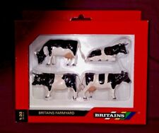 2 BRITAINS FARMS  FRIESIAN CATTLE SCALE 1:32 SETs OF COWS freisan cattle