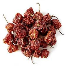 Dried ORGANIC Carolina Reaper Peppers - World's Hottest Chili! 6 PODS