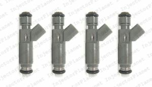 Set of 4 DENSO 4670 fuel Injector 2006 Pontiac Pursuit 12582704