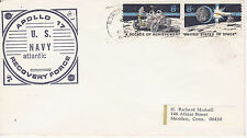 SPACE COVER -APOLLO 17 US NAVY ATLANTIC RECOVERY FORCE NORFOLK VA CANCEL