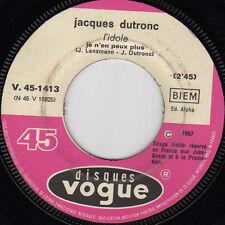 JACQUES DUTRONC L'IDOLE / LES PETITES ANNONCES FRENCH 45 SINGLE PROMO