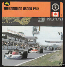 THE CANADIAN GRAND PRIX 1976 GP Picture HISTORY CARD
