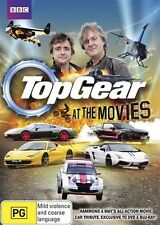 Top Gear At The Movies BBC/ABC GENUINE REGION 4 DVD NEW & SEALED CARS